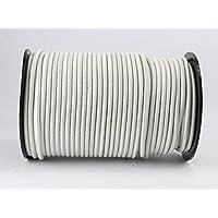 monoflex Expanderkabel, 8 mm, wit, 20 m, rubberen touw, dekzeil, spantouw Elast