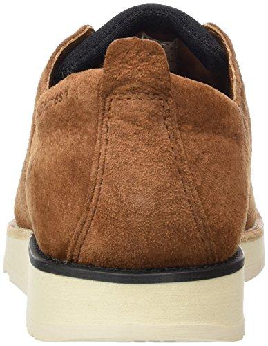 Boxfresh Hortik Ch Pgsde Fox, Zapatos de Cordones Derby para Hombre marrón (Braun)