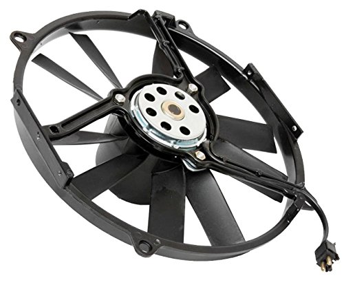TOPAZ 0005008593 Auxiliary Fan Assembly for Mercedes Benz W124 126 - Mercedes Benz Auxiliary Fan