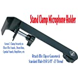 Performance Plus MH4 Microphone Holder Clamp for Drums, Cymbals, Amps & Acoustic Guitars