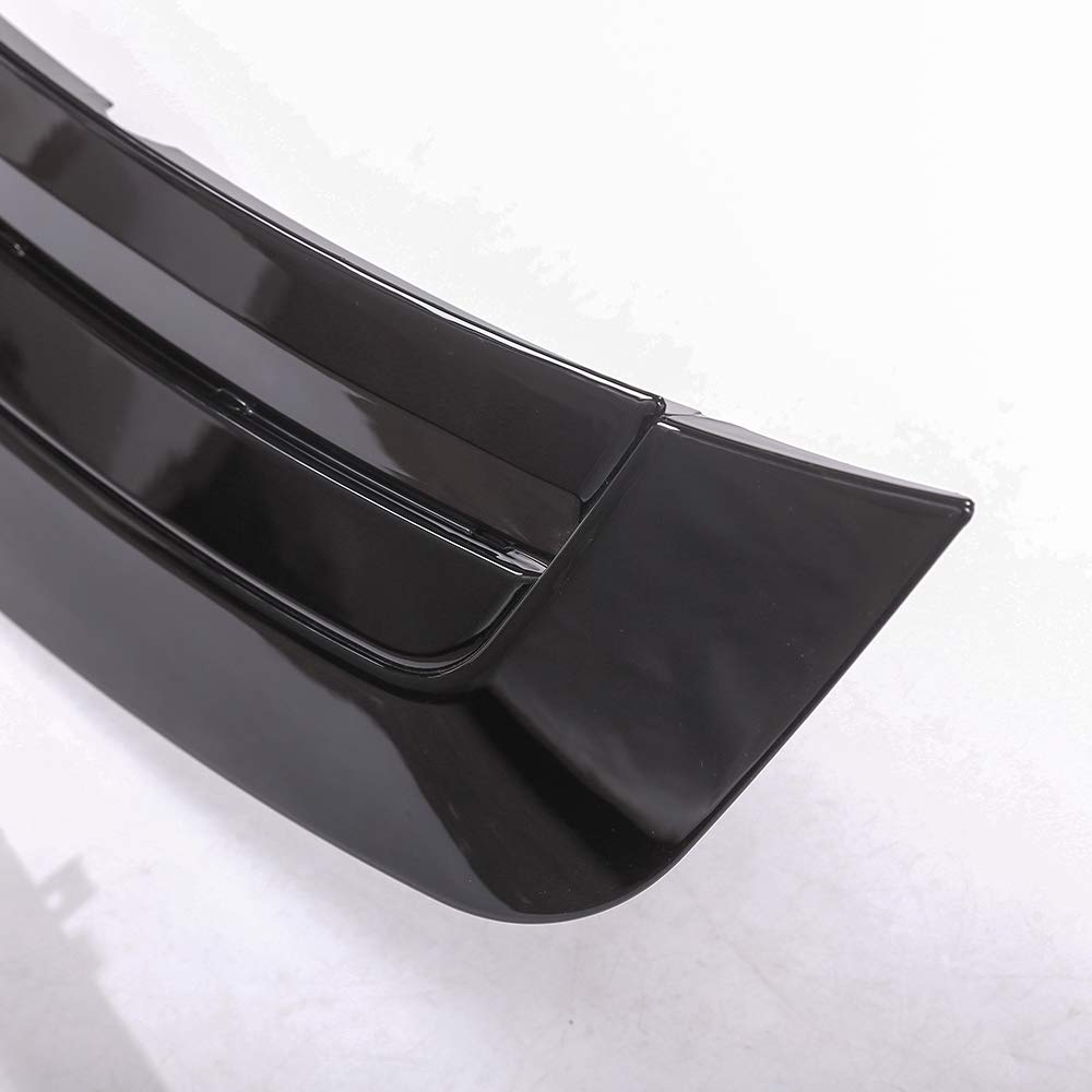 YUECHI for Land Rover Range Rover Vogue LR405 2013-2017 ABS Chrome Gloss Black Hood Panel Cover Trim Model Refitting by YUECHI (Image #2)