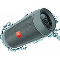 JBL Charge 2+ Splashproof Portable Bluetooth Speaker - Grey (Certified Refurbished)