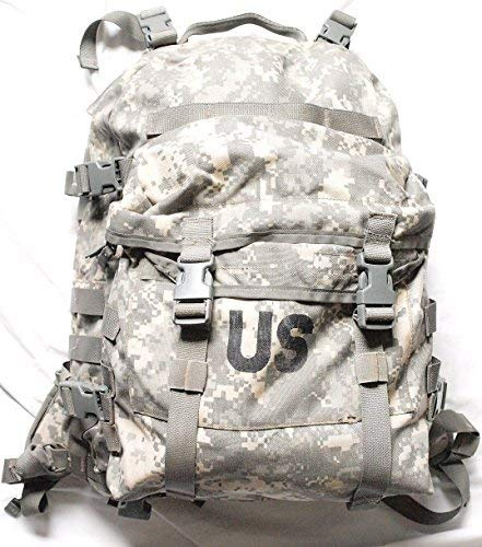 Military Outdoor Clothing Molle Assault Previously Issued ACU G.I. Molle Assault Pack, Camouflage