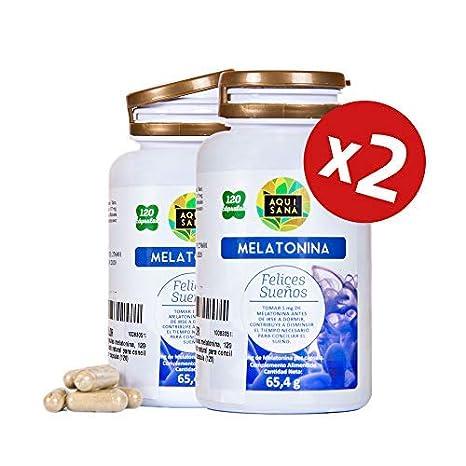 Melatonina para ayudar a conciliar el sueño – Amapola californiana, pasiflora, melisa, valeriana