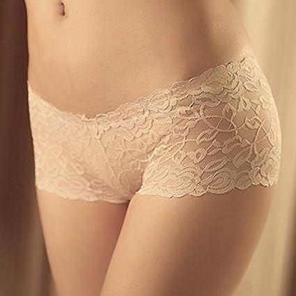 ZHANGYONG*Ropa interior sexy ropa interior femenina ropa interior femenina tentación transparente de encaje,