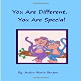 You Are Different, You Are Special, Jessica Benson, 1494436736