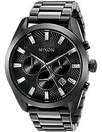Nixon Women's A931001 Bullet Chrono Analog Display Japanese Quartz Black Watch