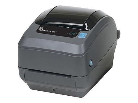 Zebra GK420t - Impresora de etiquetas (203 x 203 DPI, 127 mm/seg, Alámbrico, 8 MB, 4 MB, 194 mm)
