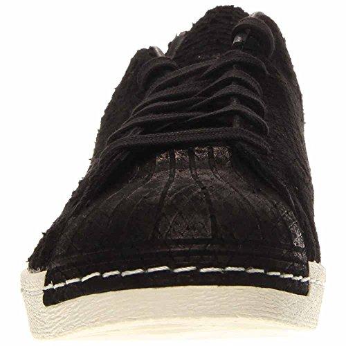 Adidas Superstar 80s Schoon Mens In Zwart / Zwart, 10,5