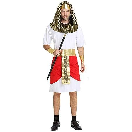 QYLOZ Trajes de guardia de faraón egipcio for hombres adultos ...