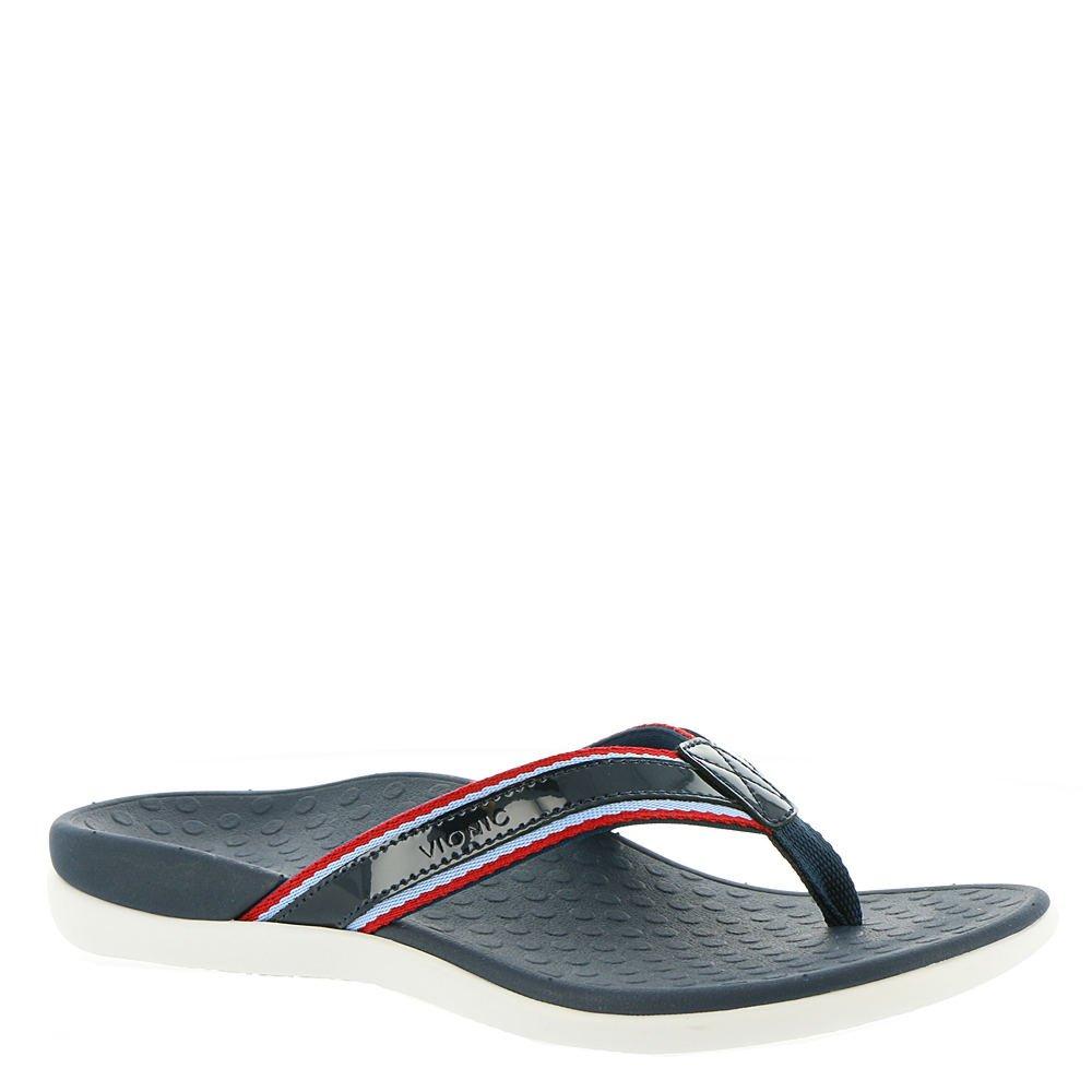 ee17737e60c409 Vionic Women s Tide Sport Toe-Post in Navy  Amazon.ca  Shoes   Handbags