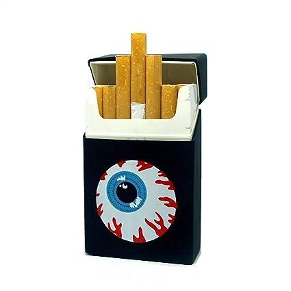 Funda para Cigarrillos, Color Negro: Amazon.es: Equipaje