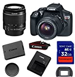 Canon EOS Rebel T6 DSLR Digital Camera & EF-S 18-55mm f/3.5-5.6 IS II Lens with 32GB SDHC Memory Card - International Version