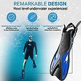 cozia design Adjustable Swim Fins - Snorkel Fins