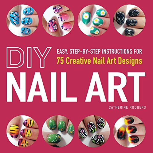 DIY Nail Art Step Step ebook product image