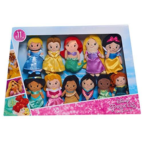 (Disney Princess Just Play Stylized Plush Super Pack Fashion Dolls)