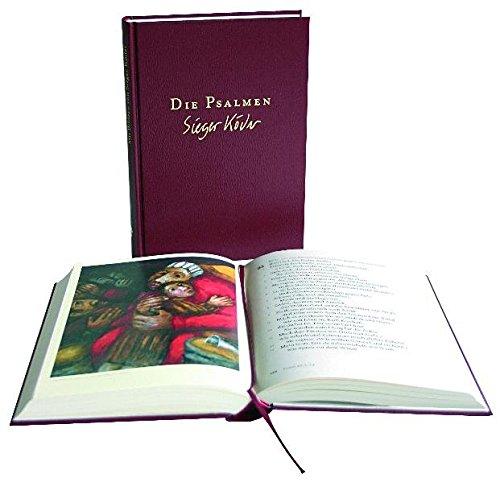 Die Psalmen in Großdruck: Mit Bildern von Sieger Köder