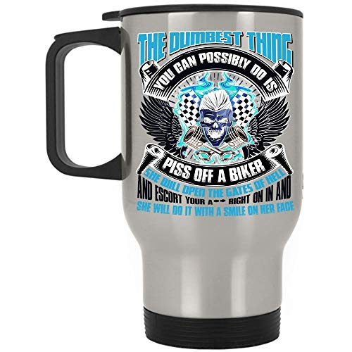 But I Run Travel Mug, I Run I'm Slower Than A Turtles Stampeding Through Peanut Butter Mug (Travel Mug - Silver)]()