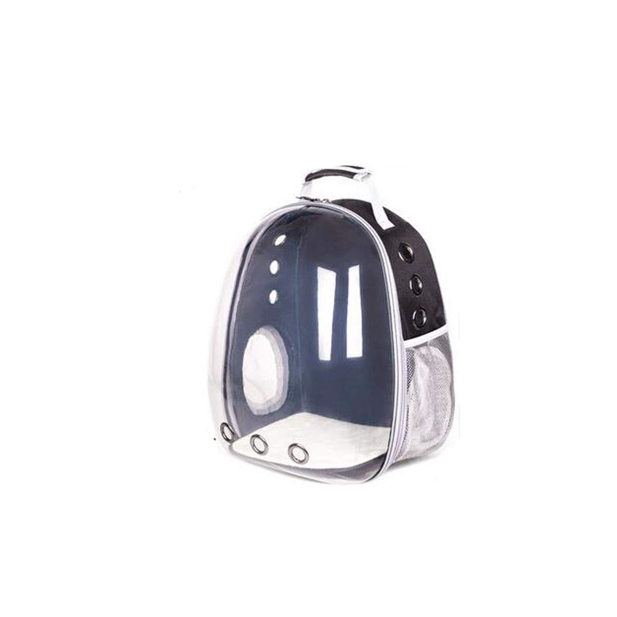 Black2 Guyuexuan Transparent Space Capsule Pet Bag, Pet Carrier Suitable For Outdoor Travel, Hiking, Camping,Black, Pink, Red Pet Travel Essentials (color   Red2)