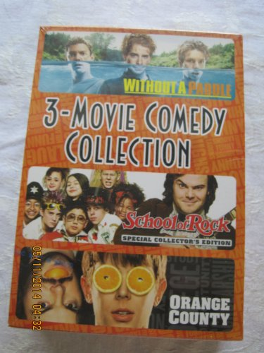 3-MOVIE COMEDY COLLECTION-WITHOUT A PADDLE- ORANGE COUNTY- SCHOOL OF ROCK