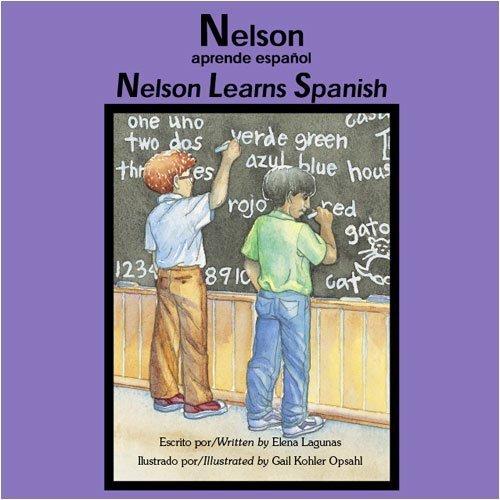 Nelson aprende Espa?ol / Nelson Learns Spanish (Bilingual Book/Audio CD/Coloring Book) by Elena Lagunas - Laguna Mall
