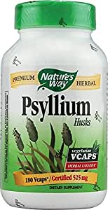 Psyllium Husks Nature's Way 180 VCaps