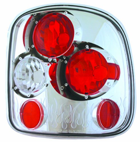 - IPCW CWT-CE325C Crystal Eyes Crystal Clear Tail Lamp - Pair