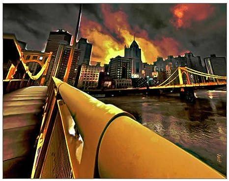 "Metropolis Photo Print 14 x 11/"""