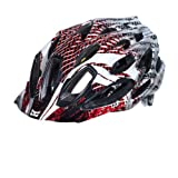 Kali Protectives Maraka XC Helmet, Gonzo Red, Medium/Large