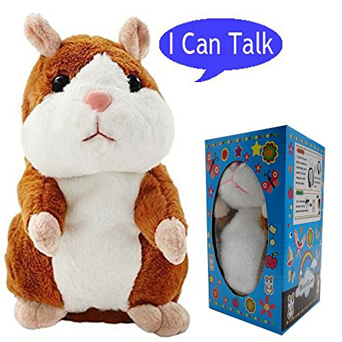 ys PRO Talking Hamster Repeats What You Say Electronic Pet Chatimals Mouse Buddy Christmas Gift for Boy and Girl, 5.7 x 3 inches (Magic Dragon Critter)