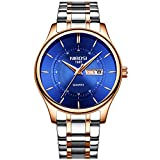 Watch Mens Watches Full Steel Waterproof Sport Watch Analog Quartz Watch Men luxury Business Black Wristwatch