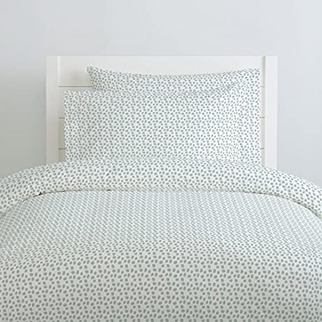 Carousel Designs Seafoam Pebbles Duvet Cover Queen Full Size Organic 100 Cotton Duvet Cover Made In The USA