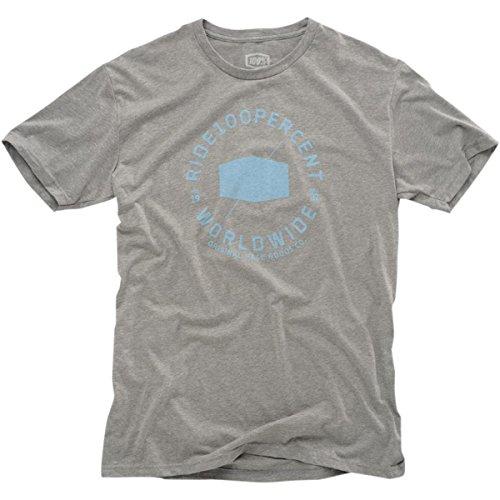 100% T-Shirt Worldwide Grau
