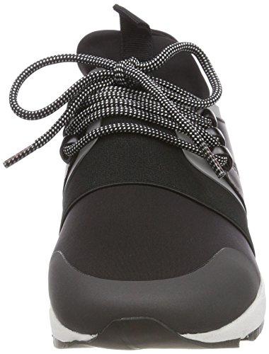 Basses Hugo Femme Hybrid Running Noir 001 n Sneakers Black qfgOq