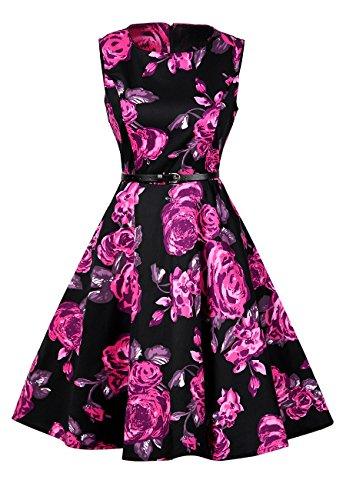 s OMZIN Purple s Dresses Women Party OMZIN Women x6vwzqIE