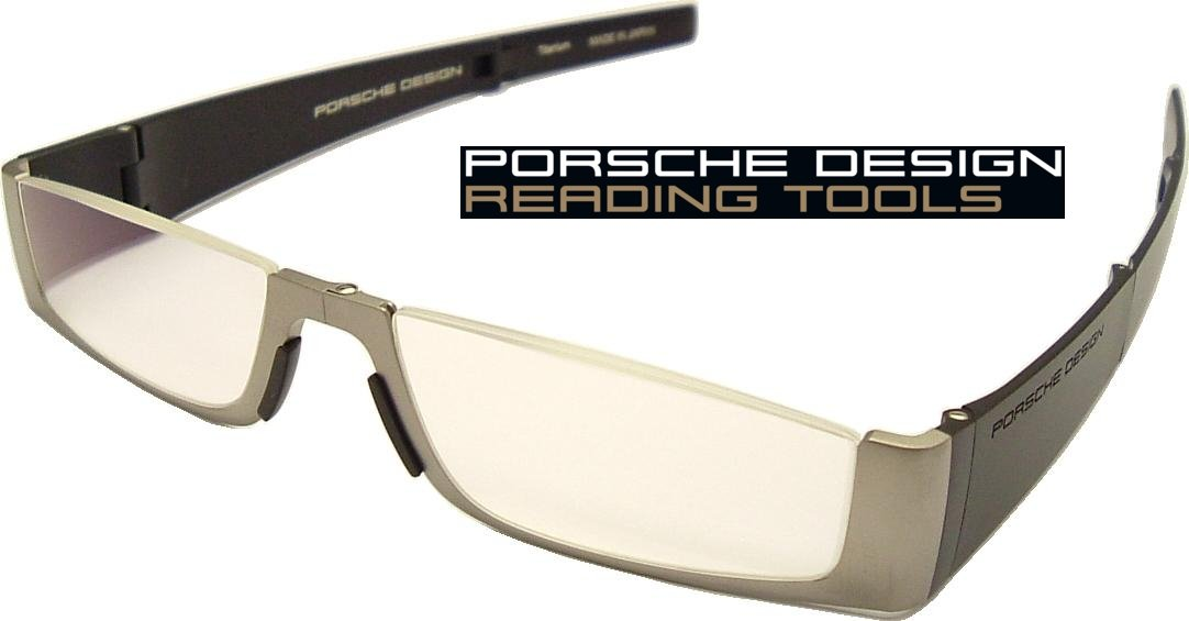 786965b69975 Porsche Design FOLDING Reading Tools Model P 8810 with +2.00 Dioptre Lenses  ~ Titanium Frame with lightweight Anti-Reflection coated lenses for  incredible ...