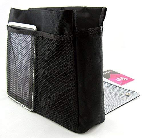 Organiser Compartments Periea Handbag Periea Tera Handbag Black Large 7 ZaqTzx