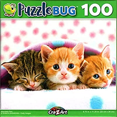 Munchkin Pets - 100 Pieces Jigsaw Puzzle: Toys & Games [5Bkhe0504091]