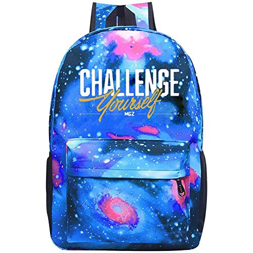 Kids Galaxy M_British_GZ School Bag For Teens Boys Girls Student Casual Rucksack Waterproof School Backpack Daypacks