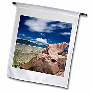 Danita Delimont - Seychelles - Seychelles, La Digue Island, Anse Grosse Roche-AF39 WBI0022 - Walter Bibikow - 18 x 27 inch Garden Flag (fl_75034_2)