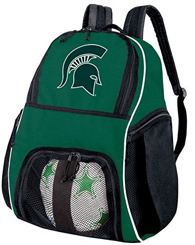 (Broad Bay Michigan State University Soccer Backpack or Volleyball Bag)