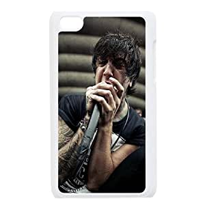 Personalized Hard Back Phone Case YU-TH92728 for Ipod Touch 4 w/ Of Mice & Men by Yu-TiHu(R)