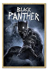 Amazon.com: Captain America Civil War Black Panther Poster ...