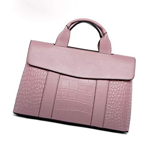 Sac Motif Sac LQQAZY Dames épaule Capacité Main Cuir Bag à En Pink Grande Crocodile Messenger Sauvage Mode wnqRxTqvdX