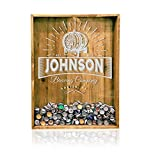 18x24 Reclaimed Wood Beer Bottle Cap Holder - Wall Decor / Personalized Beer Decor / Man Cave / Craft Beer / Monogrammed Beer Shadow Box