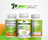 Pure Garcinia Cambogia 800MG by ProOne Nutrition. Add Garcinia to lose weight quickly and fast to diet, Increase Energy, improve Cholesterol, Stabilize Blood Sugar Levels and have a More Positive Mood