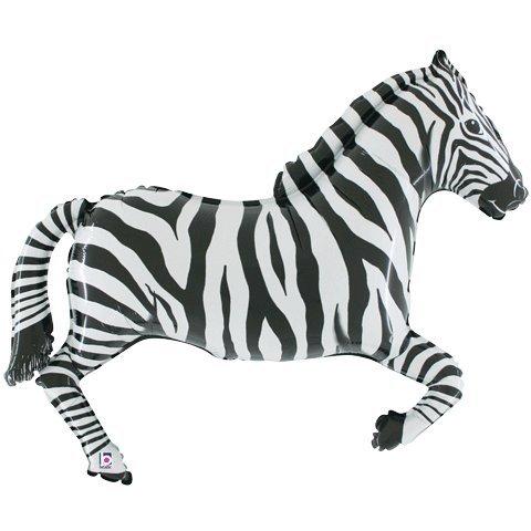 Zebra Mylar Balloon - 3