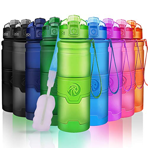 ZORRI Sport Water Bottle Kids, 500ml/700ml/1000ml - Bpa Free