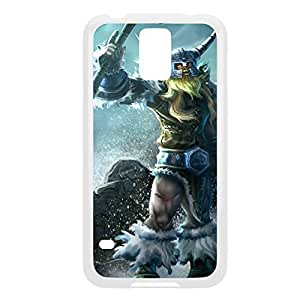 Olaf-002 League of Legends LoL For Case HTC One M8 Cover - Plastic White