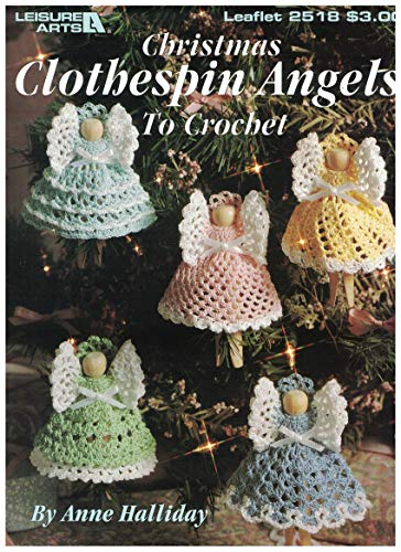Best clothespin angels leisure arts for 2019